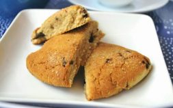 Orange Cherry Scones, paleo orange cherry scones, paleo diet, paleo recipes