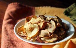 paleo diet, paleo recipes, Apple Chips