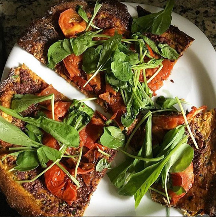 paleo diet, paleo recipes, Grilled Paleo Pizza